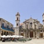 The Cathedral de San Cristobal de La Havana — Stock Photo #19701483