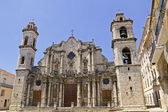 The Cathedral de San Cristobal de La Havana — Stock Photo