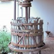 Royalty-Free Stock Photo: Old wooden wine press