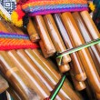 Andean flutes, Market of Santiago de Chile — Stock Photo