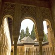 Lions Patio, Alhambra Granada Spain — Stock Photo