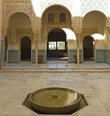 Courtyard of Arrayanes. — Stock Photo