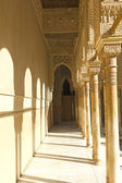 Courtyard of the Lions. Alhambra. Granada. Spain — Stock Photo