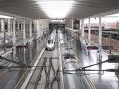 Puerta de la estación de atocha, madrid — Foto de Stock