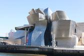 Guggenheimmuseum, bilbao in spanien — Stockfoto