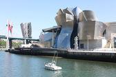 Guggenheim Museum, Bilbao in Spain — Stock Photo