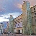 The Reina Sofia Museum. Madrid — Stock Photo