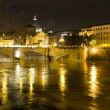 Stock Photo: Rome by night