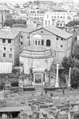 Temple of Romulus. Rome, Italy. — Foto de Stock