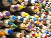 Colored pencils sale — 图库照片