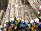 Colored pencils sale — Stockfoto
