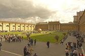 梵蒂冈博物馆的院子里 — 图库照片