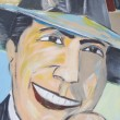 Stock Photo: Tribute to Carlos Gardel