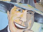 Tribute to Carlos Gardel — Stock Photo