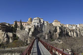 Suspension bridge in Cuenca, Spain — Stock Photo