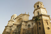 New Cathedral on Cadiz. — Stock Photo