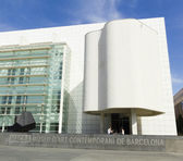 MACBA Museum in Barcelona, Spain. — Stock Photo