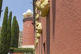 大理博物馆在菲格雷斯,西班牙 — 图库照片