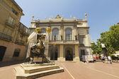 Wejście w theatre oraz muzeum dalego, figueres, hiszpania. — Zdjęcie stockowe