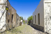 Old colonial street, Uruguay — Stock Photo