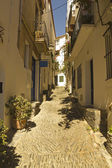 Mediterranean street — Stock Photo