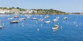Boats mediterranean — Stock Photo