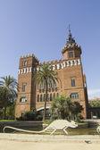 Castelo dos três dragões, barcelona. — Fotografia Stock
