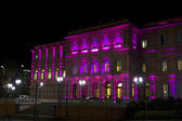 Casa Rosada (Pink House) by night — Stock Photo