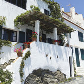 White house, typical of the Mediterranean — Stock Photo