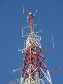 Telecommunications antenna — Foto Stock