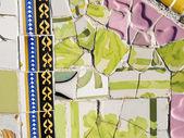 Fundo de antonio mosaicos gaudi — Foto Stock