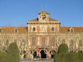 Barcelona - o parlamento da catalunha autónoma. — Foto Stock