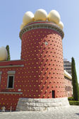 Galathea's tower with huge eggs — Stock Photo