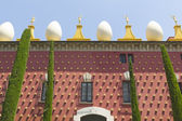 Facade of Dali Museum in Figueres — Stock Photo