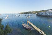 средиземноморская деревня, испания — Стоковое фото