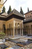 Lions Patio, Alhambra, Granada, Spain — Stock Photo