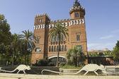 Castle of the three dragons, Barcelona. — Stock Photo