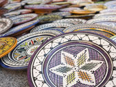 Sale of ceramic, typical of Morocco. — Stock Photo