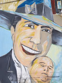 Tribute to Carlos Gardel — Stock Photo