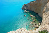 Porto Katsiki in Lefkada island Greece — Stock Photo