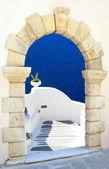 Greek traditional architecture in Santorini island, Greece — Stock Photo