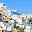 Traditional village of Thira at Santorini island in Greece — Stock Photo #13233753
