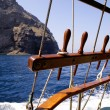Traditional boat for cruise — Stock Photo