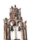 Iglesia en la isla de santorini, grecia — Foto de Stock