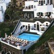 Stock Photo: Greek traditional architecture in Santorini island, Greece