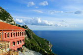 Monastery of St. Anna at Mount Athos in Greece — Stock Photo