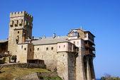 Mount athos yunanistan, stavronikita manastırı — Stok fotoğraf