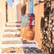 Traditional architecture of Oivillage at Santorini island in G — Stock Photo #14637259