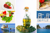 Greek traditional food — Stock Photo