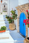 Greek traditional house located at Kithyra island — Stock Photo